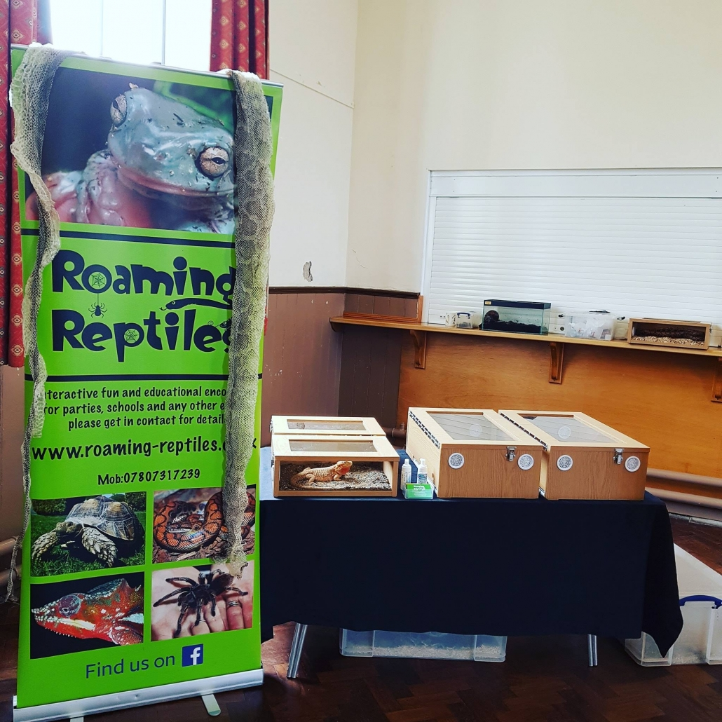 Roaming Reptiles, Parties with a difference!